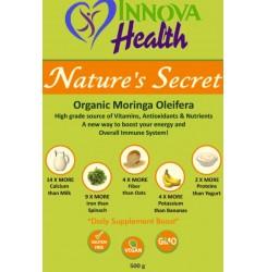 Nature's Secret Organic Moringa Powder